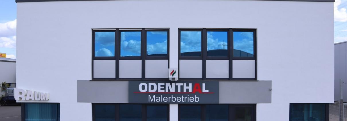 Malerbetrieb Odenthal, Showroom und Verkauf in Troisdorf